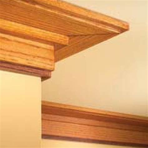 Craftsman Ceiling Trim by How To Install Craftsman Trim