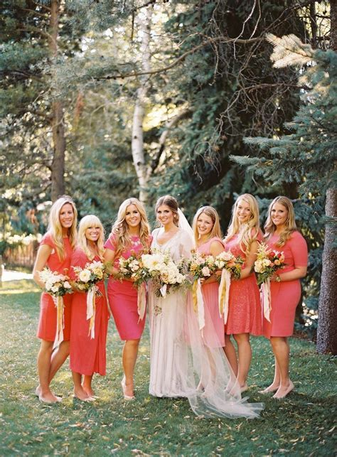 Coral wedding ideas,coral wedding dresses