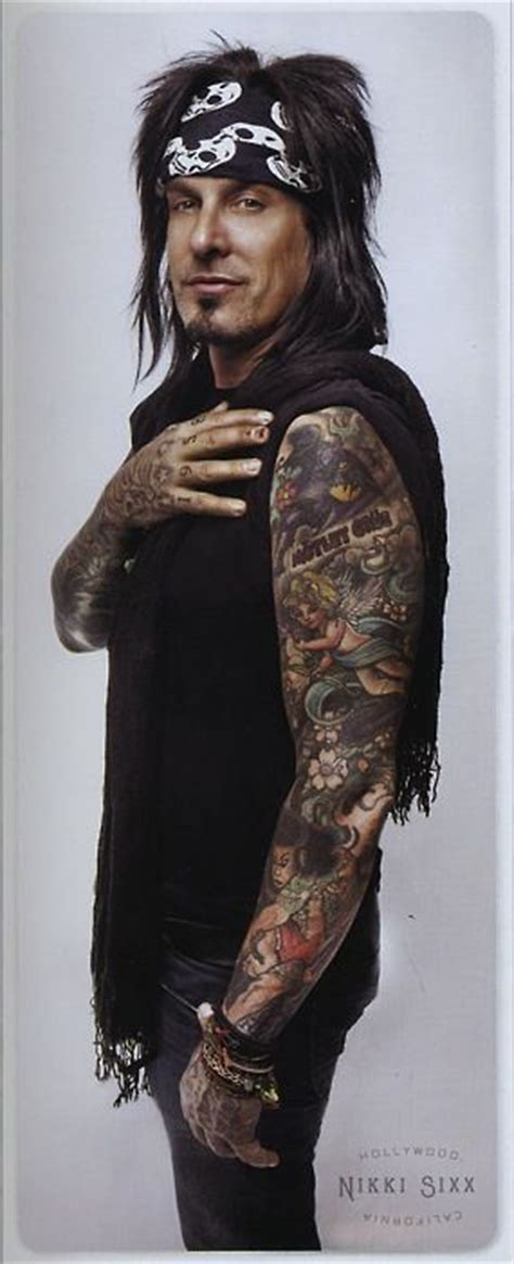 nikki sixx tattoos 849 best images about sixx on mick mars