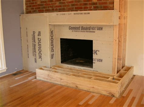 building a gas fireplace do it yourself fireplace remodel