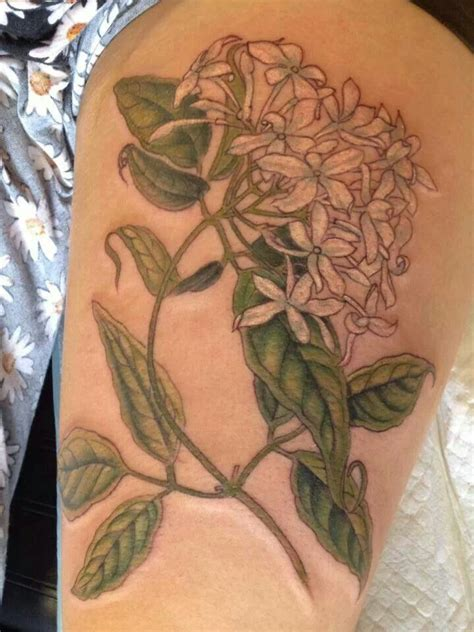 jasmine tattoo flower