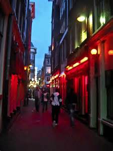 Seizure Lights Amsterdam The Red Light District Fun In Amsterdam