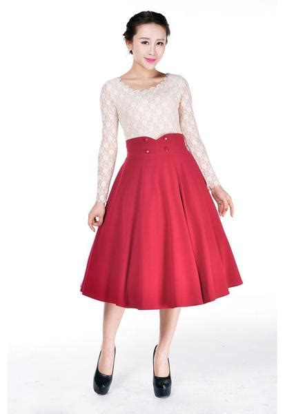 Skirt The Typical Day Swing The Usual Days Pv 0117015 vintage inspired valentines day dresses skirts