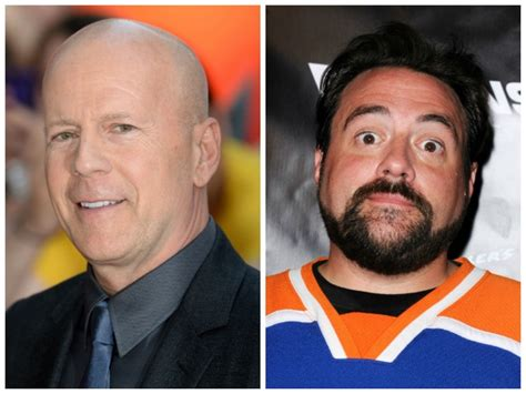 Will Smith Set Bruce Willis by Kevin Smith Bruce Willis Kevin Smith și Bruce Willis Viva
