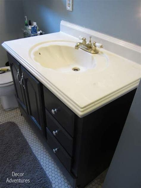 Redo Bathroom Vanity Countertop Best 20 Redo Bathroom Vanities Ideas On Bathroom Vanities Gray Bathroom Vanities