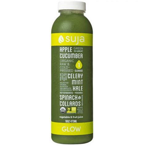 Get In Shape For Start Juicing by Suja Juice Glow Review Best Tasting Green Juices Shape