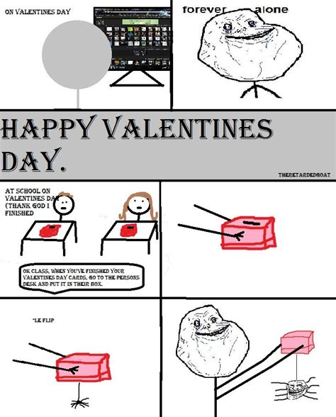 forever alone day a forever alone valentines