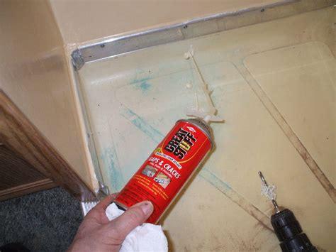 Cracked Shower Floor Repair by Repair Cracked Shower Floor Pan Improvement And Do It