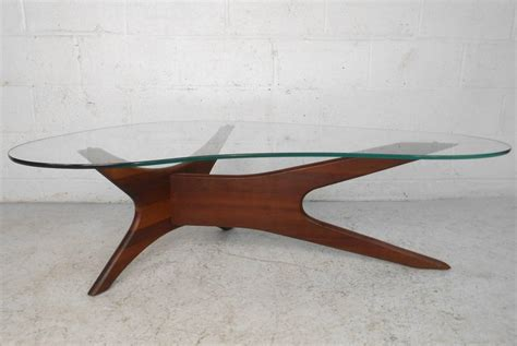 adrian pearsall coffee table mid century modern adrian pearsall kidney shaped jacks