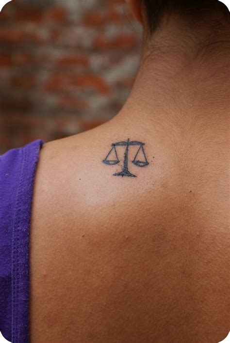 libra scale tattoo scales of justice libra tattoos