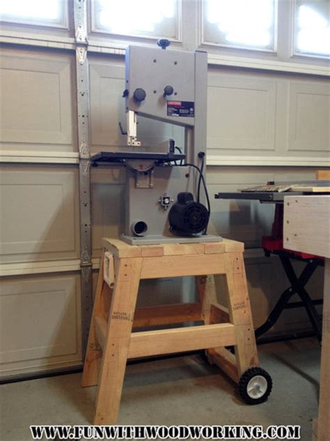 quick  easy stand   bandsaw  fun