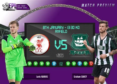 plymouth argyle fa cup liverpool vs plymouth argyle fa cup 3rd preview