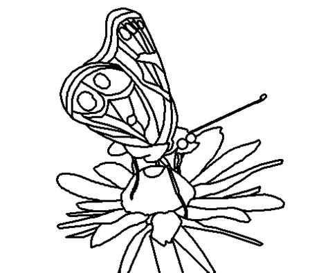 coloring page of painted lady butterfly coloring books by connected lines