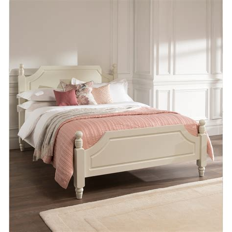brittany shabby chic bed natural wood furniture range
