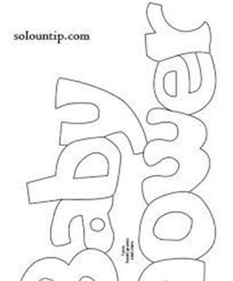 letras de baby shower para imprimir patrones de baby shower imagui baby shower pinterest