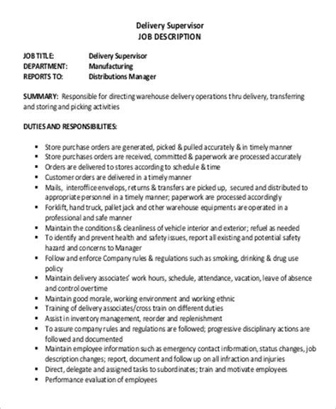 delivery driver description 21 captivating description of a delivery driver resume