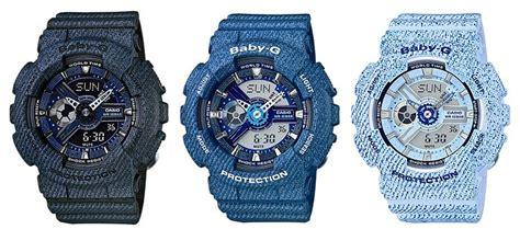 Baby G Casio Dg 120 Blue g shock ga 110dc and baby g ba 110dc denim series g