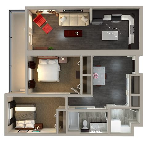 kensington flats 2 bedroom condo innovative residential