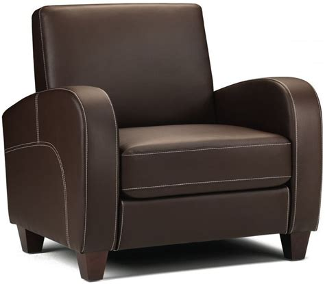 faux leather armchairs julian bowen vivo brown faux leather armchair horseandjockeytylersgreen