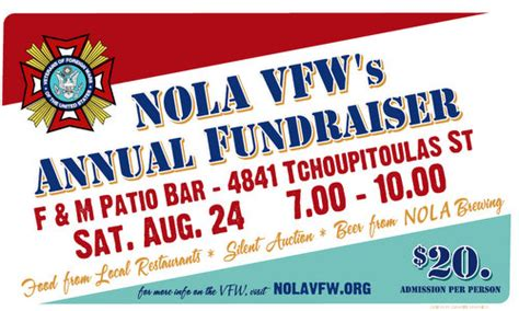 F And M Patio Bar by Vfw Post Holds Annual Fundraiser Saturday At F M S
