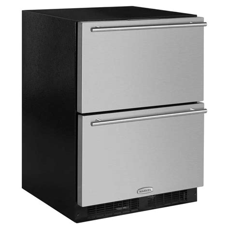Fridge Drawers by Shop Marvel 23 875 In Built In Drawer Refrigerator