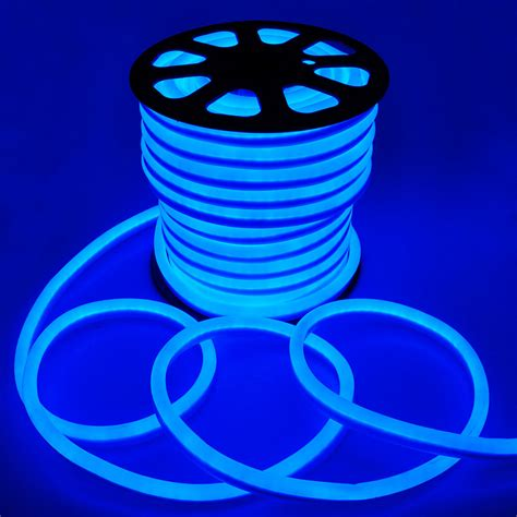 led flex lights flex led neon rope light blue 150 decorative