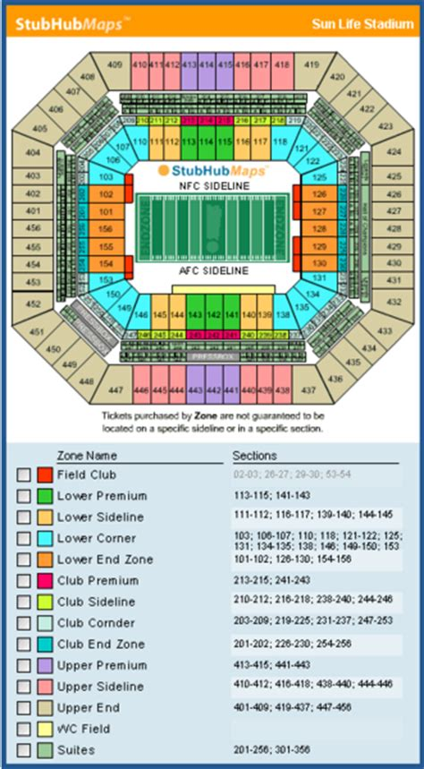 dolphin stadium seating chart 3d new miami stadium seating chart pictures directions and