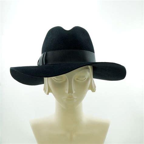 wide brim fedora hat for vintage fedora