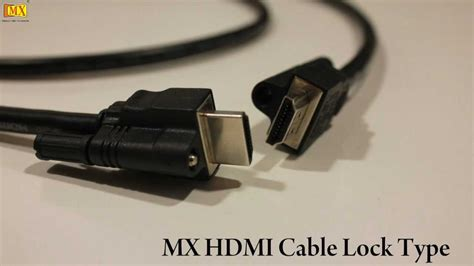 use of hdmi how to use hdmi cable with screws
