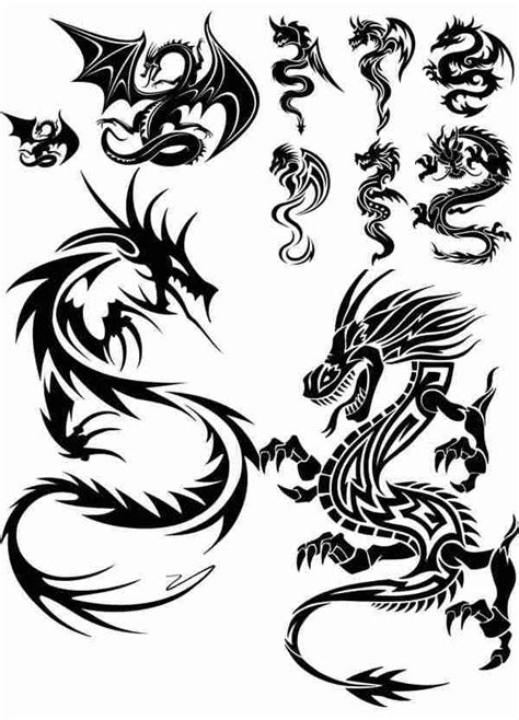 pattern drawing dragon chinese dragons images cliparts co