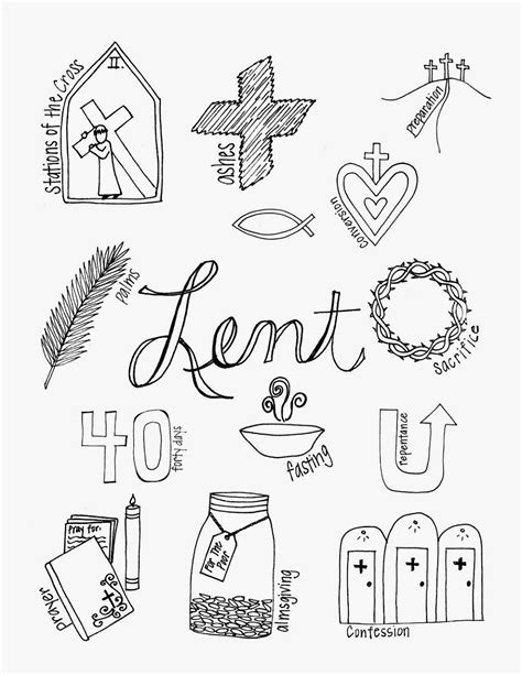 lent coloring pages printable look to him and be radiant what lent looks like