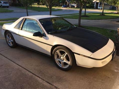 1987 pontiac fiero 2 5l classic pontiac fiero 1987 for sale