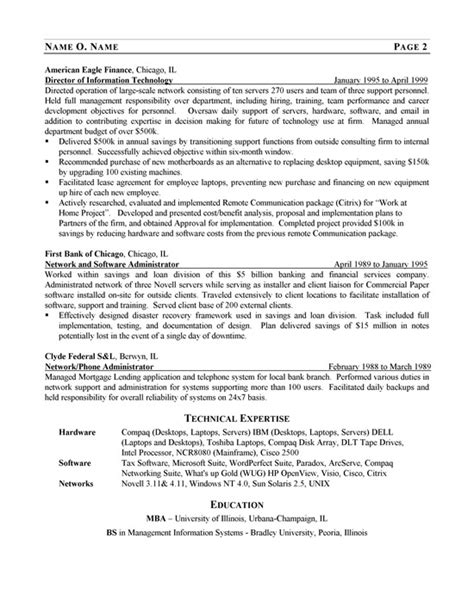 Best Resume Network Engineer by It Consultant Resume Example