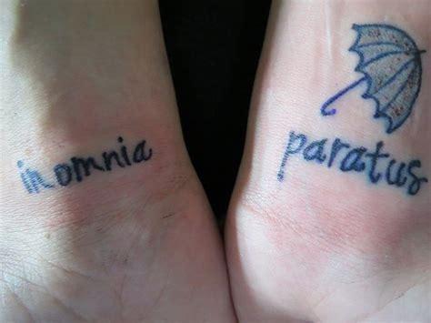 in omnia paratus tattoo in omnia paratus masterpieces tvs