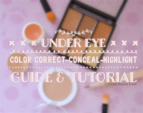 eye color corrector eye color correction concealing highlight guide