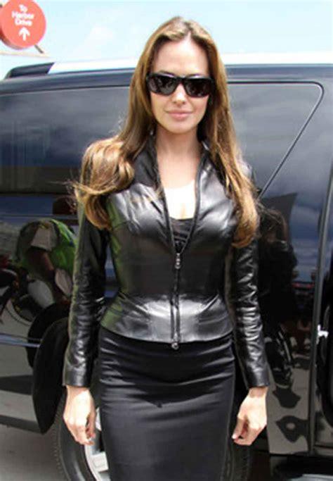 Jaket Angelie black stylish leather jacket