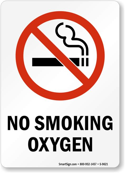 no smoking sign use oxygen signs oxygen in use signs mysafetysign com