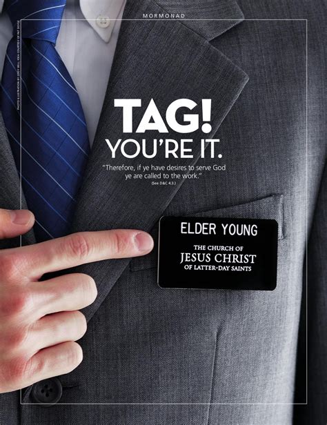 printable lds name tags lds missionary quotes member quotesgram