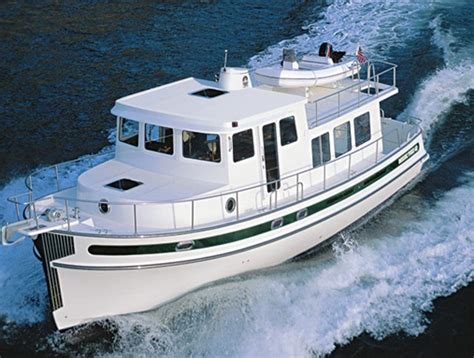 luxury tugboat yacht nordic tugs 42 a capable trawler in tugboat clothing