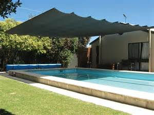 Shade Sails Backyard Cool Your Outdoor Entertaining Area With A Retractable