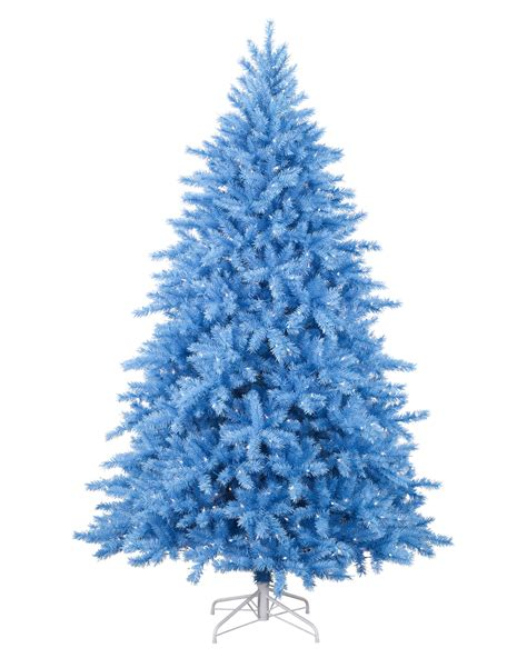 pics for gt white christmas tree with blue lights
