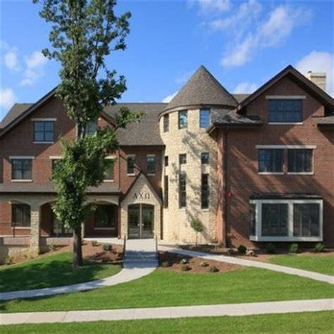 omega house alpha chi omega house at iowa sorority houses pinterest