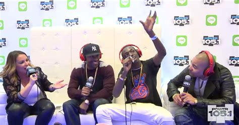 bobby shmurda teaches the breakfast club how to do the fwl media bobby shmurda with the