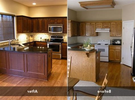 Best Paint To Refinish Kitchen Cabinets How To Refinish Oak Kitchen Cabinets