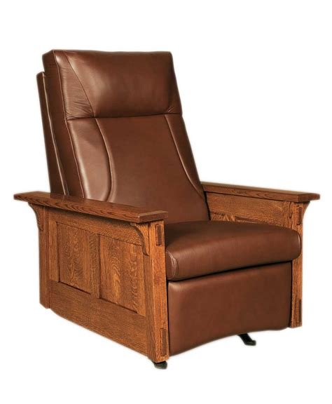 amish recliner chair mccoy rocker recliner amish direct furniture