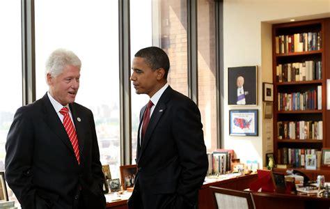 When Was Bill Clinton In Office bill clinton in bill clinton hosts barack obama in his