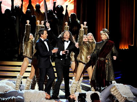 Al To Receive An Emmy by Heidi Klum And Other Epic Moments At Emmys 2014