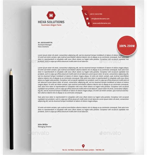 Business Letterhead Format Exle 15 Brand New Ms Word Letter Templates Graphic Cloud