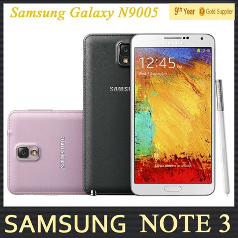 original samsung galaxy note 3 n9000 n9005 unlocked mobile phone 3gb ram 5 7 inches