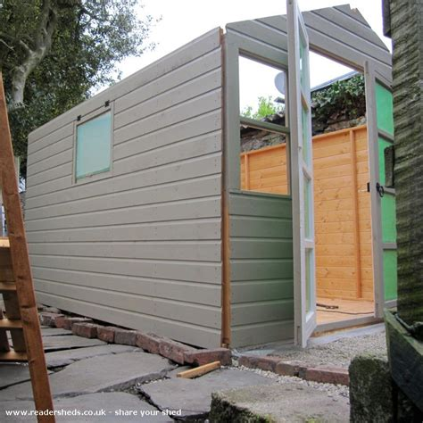 Ted Shed Uk by The Home Of Ted Agnes Workshop Studio From